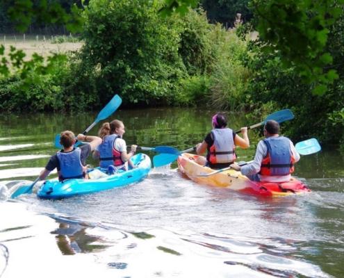 Photo location de canoë à Civray - Location de gîte