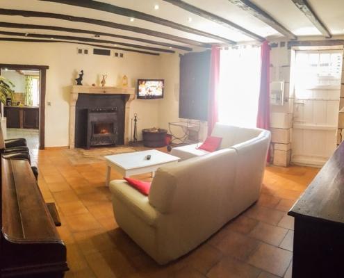 Photo salon Gîte Séjour Vacances à Civray dans la Vienne